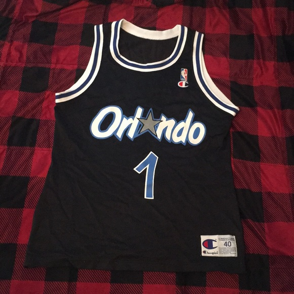 on sale 08424 4faba Champion Orlando Magic Penny Hardaway Jersey
